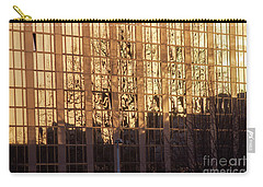 Carry-all Pouch featuring the photograph Amber Window by Ana Mireles