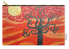 Ambient Bliss Carry-all Pouch by Rachel Hannah