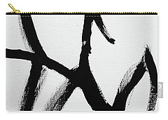Carry-all Pouch featuring the painting Ambit by Robin Maria Pedrero