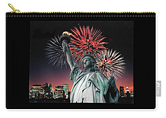 America The Beautiful  Carry-all Pouch by Herb Strobino