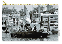 America II And The Statue Of Liberty Carry-all Pouch