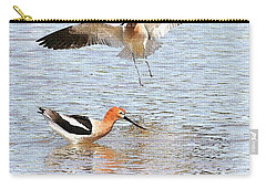 American Avocets Carry-all Pouch