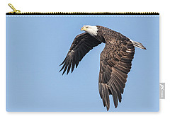 American Bald Eagle 2017-5 Carry-all Pouch by Thomas Young