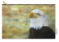 American Bald Eagle At Sunrise Carry-all Pouch