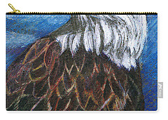 American Bald Eagle Carry-all Pouch by John Keaton