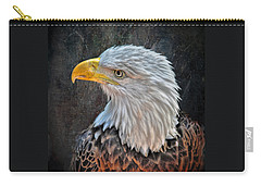 Carry-all Pouch featuring the photograph American Bald Eagle by Savannah Gibbs