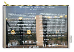 Carry-all Pouch featuring the photograph American Battle Monuments Commission by Travel Pics