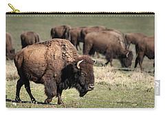 American Bison 5 Carry-all Pouch