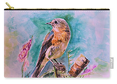American Blue Bird Carry-all Pouch
