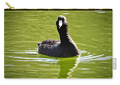 American Coot Portrait Carry-all Pouch