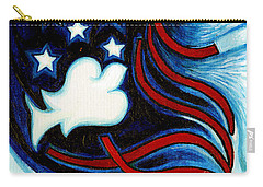 Carry-all Pouch featuring the painting American Dove by Genevieve Esson