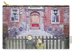 Carry-all Pouch featuring the mixed media American Dreams by Desiree Paquette