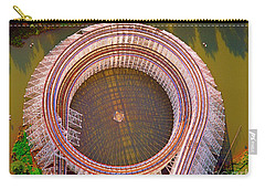Carry-all Pouch featuring the photograph American Eagle Roller Coaster  by Tom Jelen