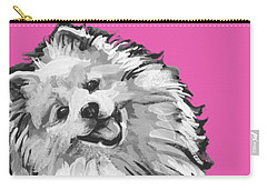 American Eskimo Pooch Carry-all Pouch