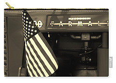 Carry-all Pouch featuring the photograph American Farmall by Meagan  Visser