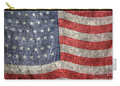American Flag Carry-all Pouch by Randy Steele