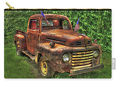 American Ford 1950 F-1 Ford Pickup Truck Art Carry-all Pouch