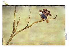 Carry-all Pouch featuring the photograph American Freedom by James BO Insogna
