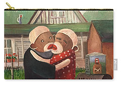 American Gothic The Monkey Lisa And The Holler Carry-all Pouch