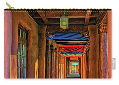 Carry-all Pouch featuring the photograph American Institute Of Indian Arts by Ken Stanback