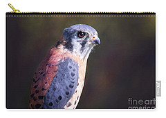 American Kestrel Portrait Carry-all Pouch