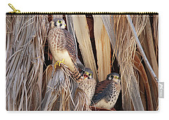 American Kestrels Carry-all Pouch