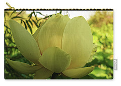 Carry-all Pouch featuring the photograph American Lotus by Scott Kingery