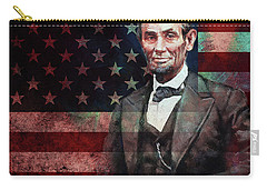 American President Abraham Lincoln 01 Carry-all Pouch by Gull G