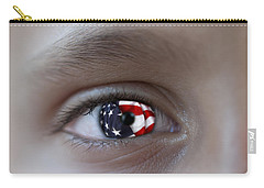 American Proud - Stars And Stripes Forever Carry-all Pouch by Pedro Cardona