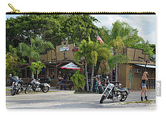 Carry-all Pouch featuring the photograph American Roadhouse by Laura Fasulo