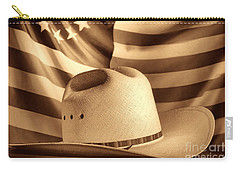 American Rodeo Cowboy Hat Carry-all Pouch