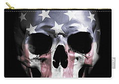 American Skull Carry-all Pouch
