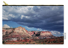 Carry-all Pouch featuring the photograph American Southwest by Marilyn Hunt