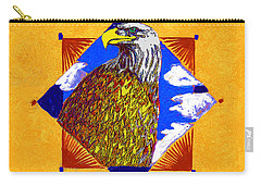 American Spirit Carry-all Pouch by John Keaton