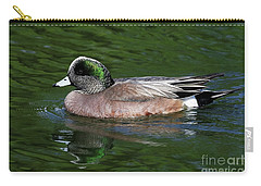 American Wigeon Anas Americana Duck Carry-all Pouch
