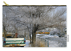 Americana And Hoarfrost Carry-all Pouch