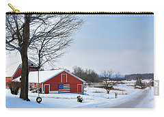 Americana Barn In Vermont Carry-all Pouch