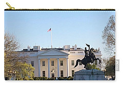 Carry-all Pouch featuring the photograph America's Home by Aaron Martens