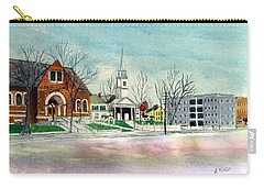 Amesbury Public Library Circa 1920 Carry-all Pouch