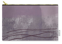 Amethyst 1- Abstract Art By Linda Woods Carry-all Pouch