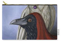 Amethyst Carry-all Pouch by Leah Saulnier The Painting Maniac