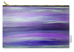 Amethyst Mirage  Carry-all Pouch by Rachel Hannah