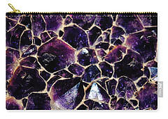 Amethyst Quartz Crystal Smithsonian Carry-all Pouch