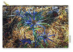 Amethyst Sea Holly Carry-all Pouch