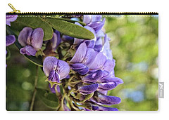 Amethyst Shower Carry-all Pouch by Ella Kaye Dickey