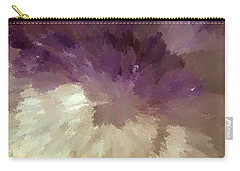 Carry-all Pouch featuring the photograph Amethyst Spiral by Ellen Barron O'Reilly