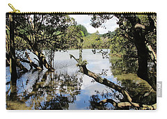 Carry-all Pouch featuring the photograph Amidst The Mangroves by Dianne  Connolly
