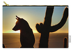 Carry-all Pouch featuring the photograph Amigo by Skip Hunt