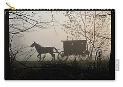 Amish Buggy Foggy Sunday Carry-all Pouch