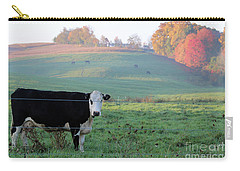 Amish Cow Early Morning  5788 Carry-all Pouch